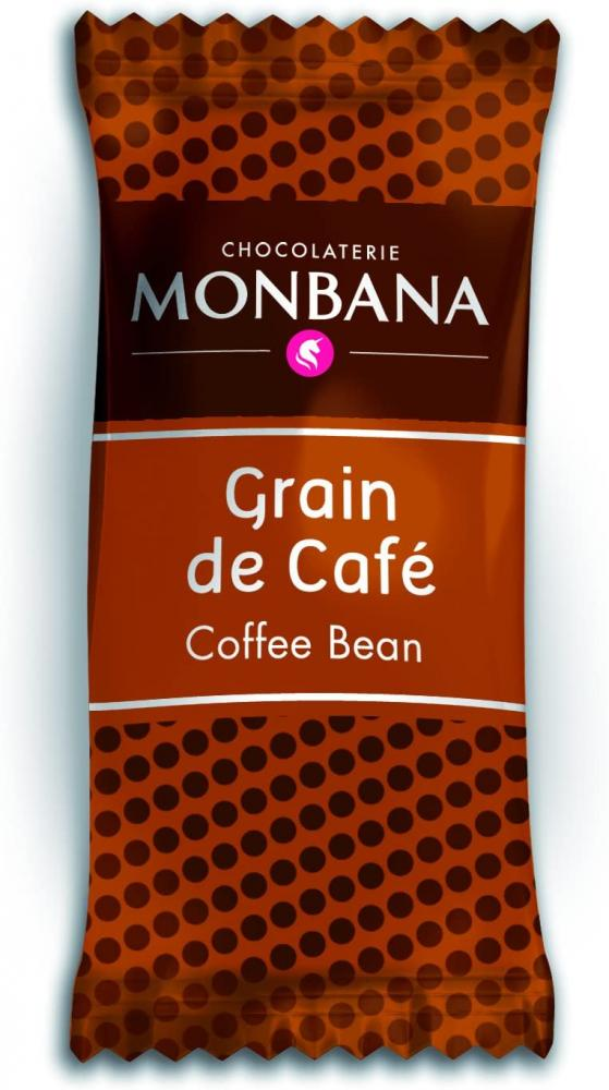 Monbana Chocolate Coated Coffee Beans 200 Count