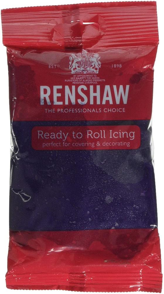 SALE  Renshaw Ready to Roll Coloured Icing Purple 250g