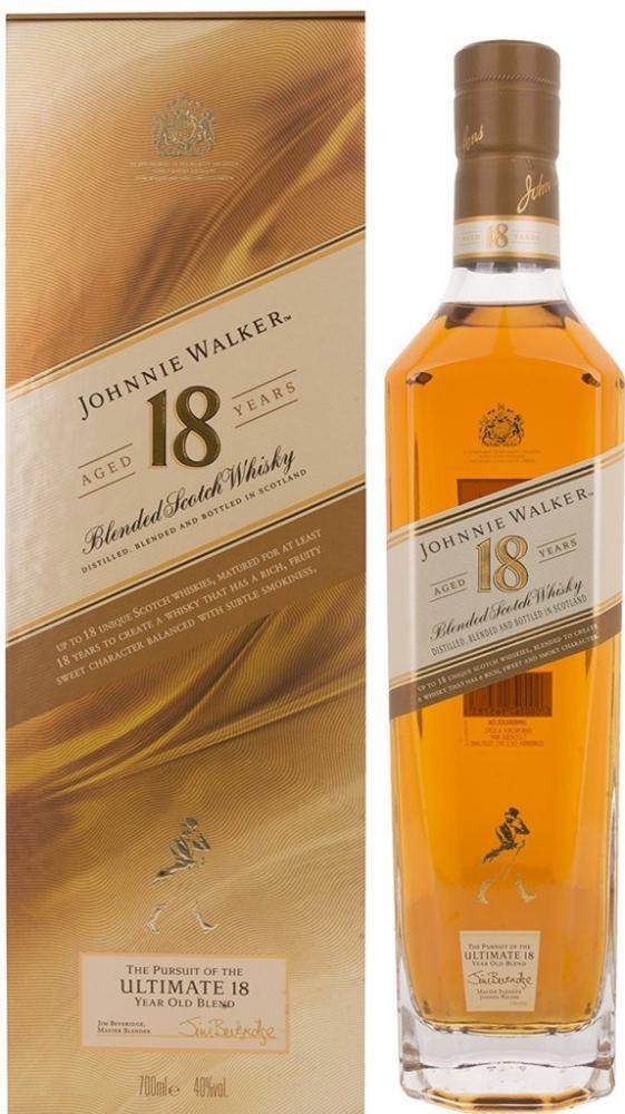 Johnnie Walker Platinum Label Aged 18 Year Old Whisky 700ml