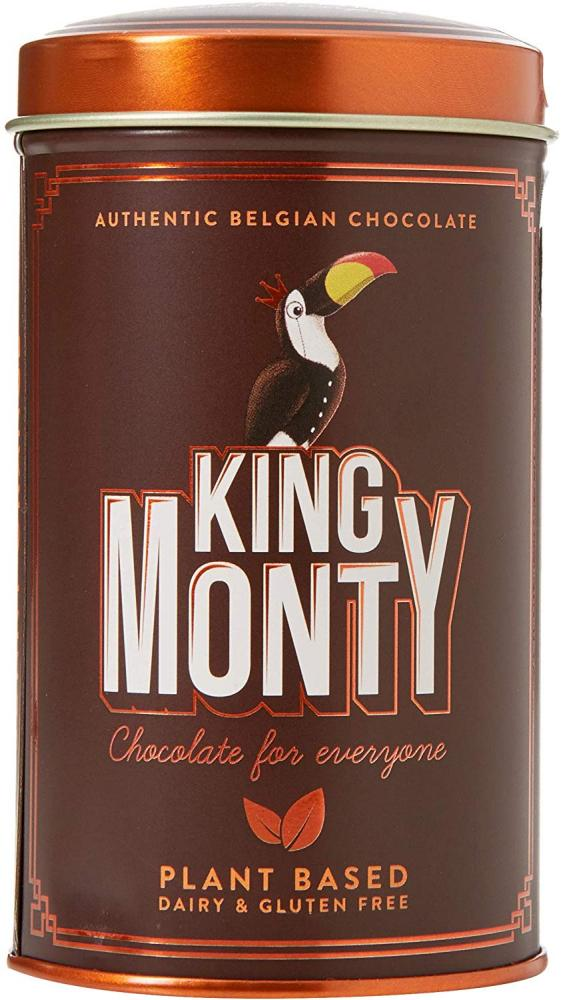 King Monty Sunny Orange Chocolate Tin 130g