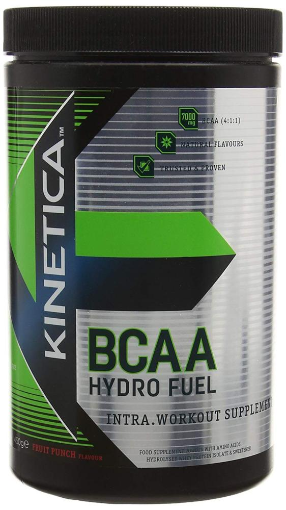 Kinetica Sports Fruit Punch BCAA Hydro Fuel 450g