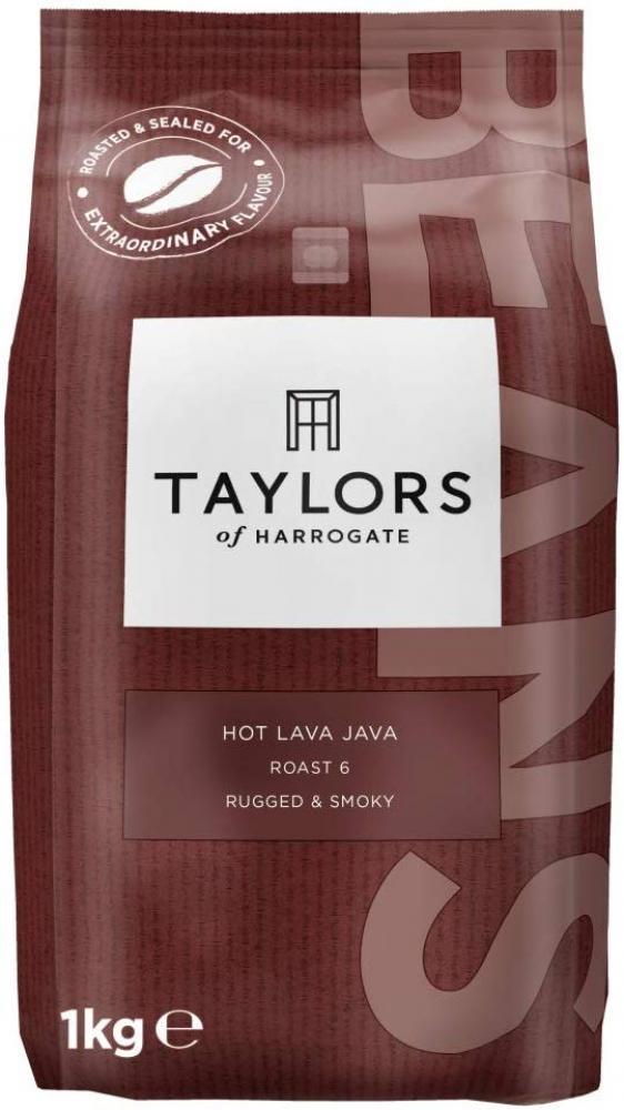 Taylors Of Harrogate Hot Lava Java Coffee Beans 1 kg