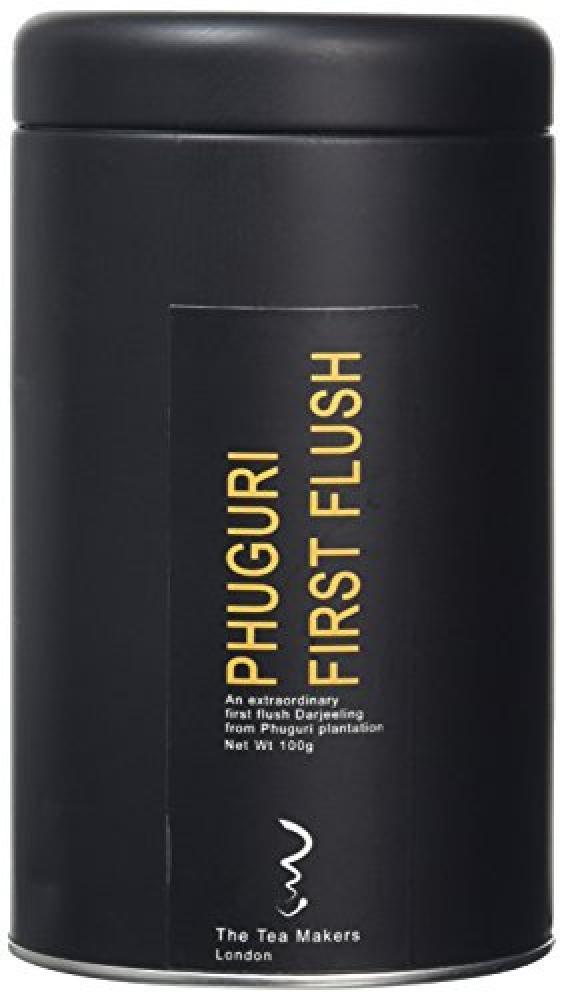 The Tea Makers of London Phuguri First Flush Darjeeling Ftgfopi 100 g Caddy