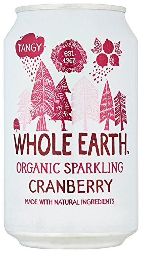 Whole Earth Organic Mountain Cranberry 330 ml