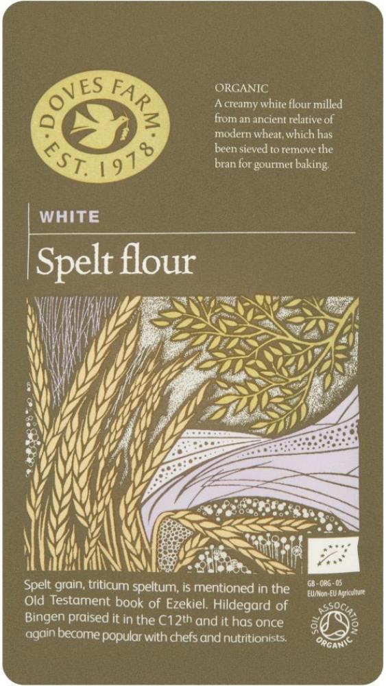 Doves Farm White Spelt Flour 1kg