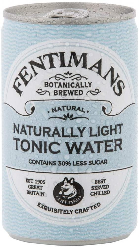 Fentimans Naturally Light Tonic Water Can 150ml