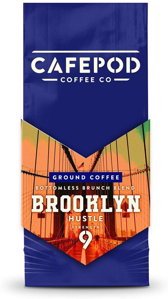 Cafepod Ground Coffee Brooklyn Hustle 200 g