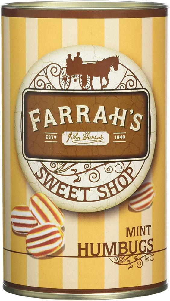 Farrahs Of Harrogate Mint Humbugs 125 g