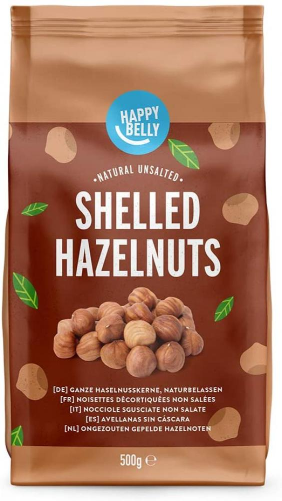 SALE  Happy Belly Shelled Hazelnuts 500g