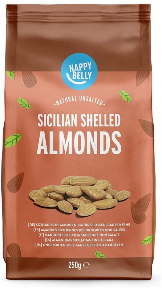 Happy Belly Sicilian Shelled Almonds 250g