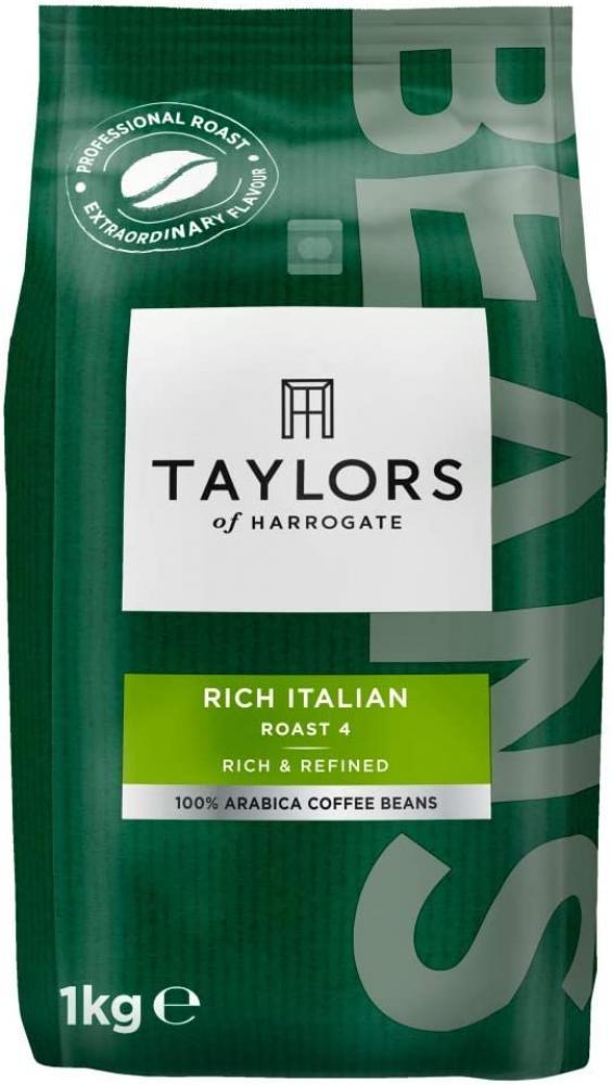 Taylors Of Harrogate Rich Italian Coffee Beans 1 kg