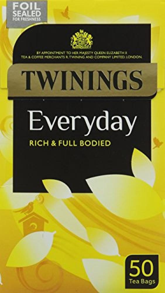 Twinings Everyday 50 Teabags 145g