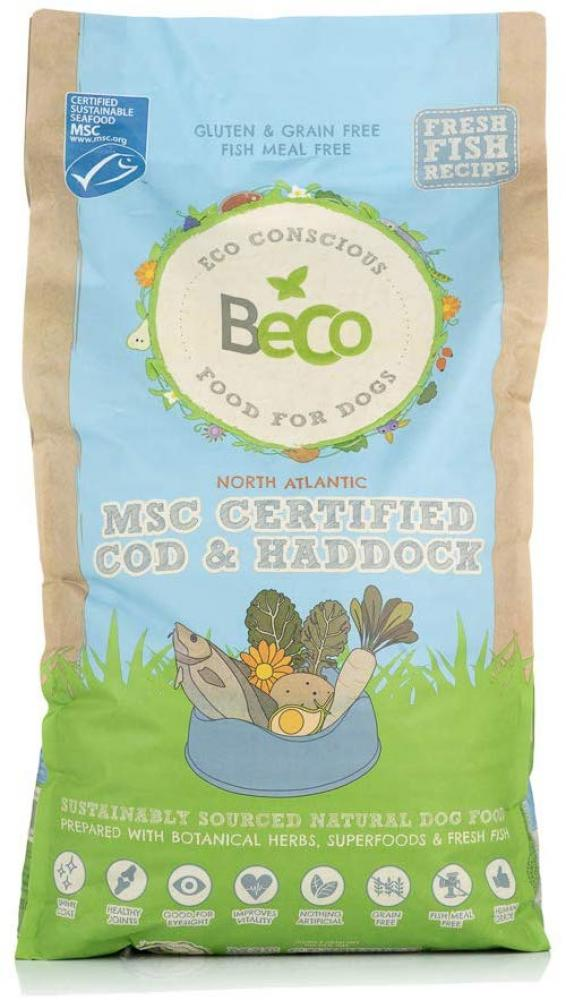 Beco Dog Food MSC Cod And Haddock with Kale and Chickpeas 12kg