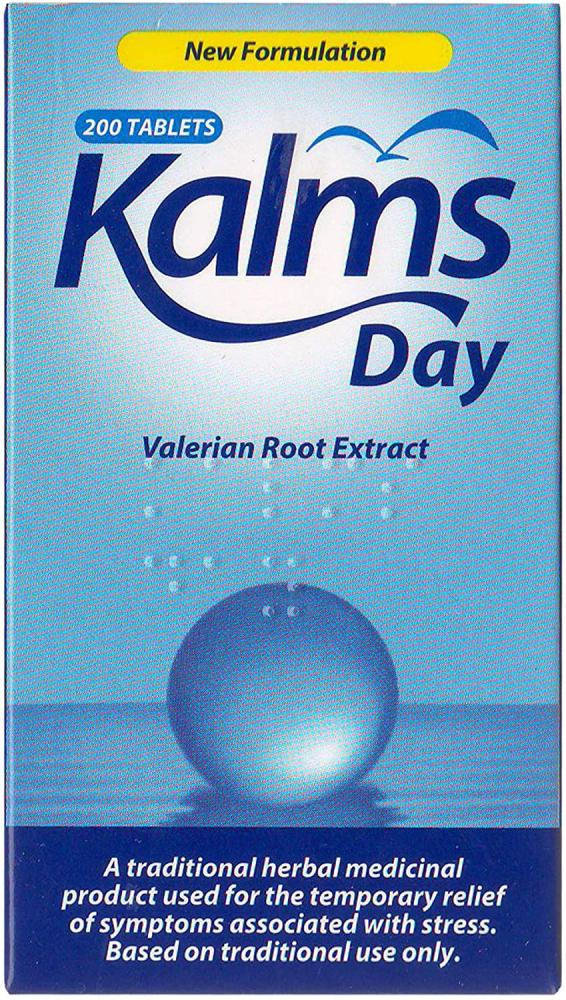 Lanes Health Kalms Day Herbal 200 Tablets