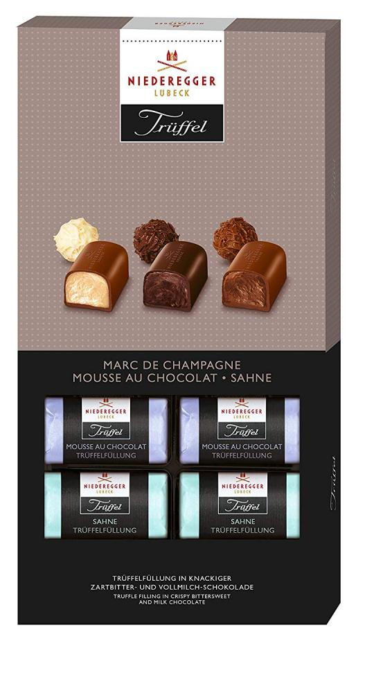 Niederegger Marc De Champagne Chocolate Truffle Selection 200g