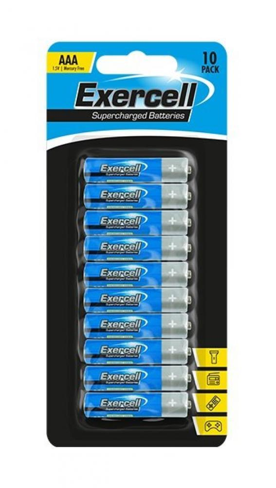 Exercell AAA Batteries 10 pack