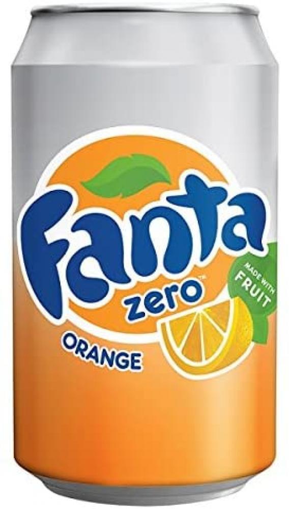 Fanta Zero Orange 330ml