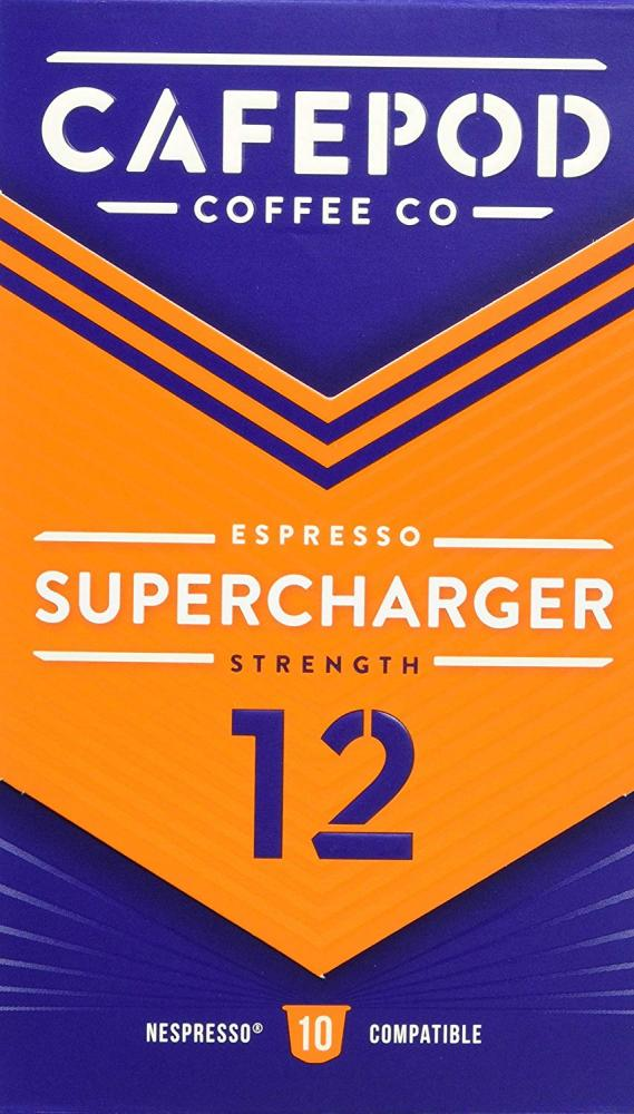 Cafepod Nespresso Compatible Supercharger 55g
