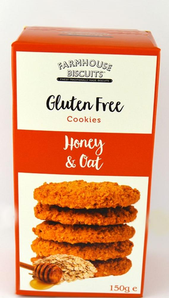 Farmhouse Biscuits Gluten Free Honey and Oat Cookies 150g