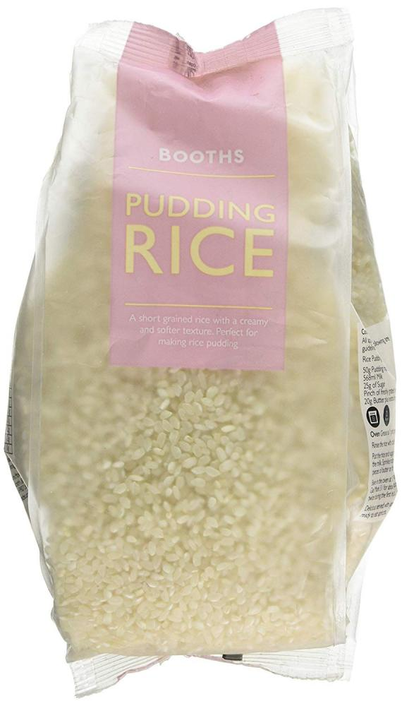 Booths Pudding Rice 1kg