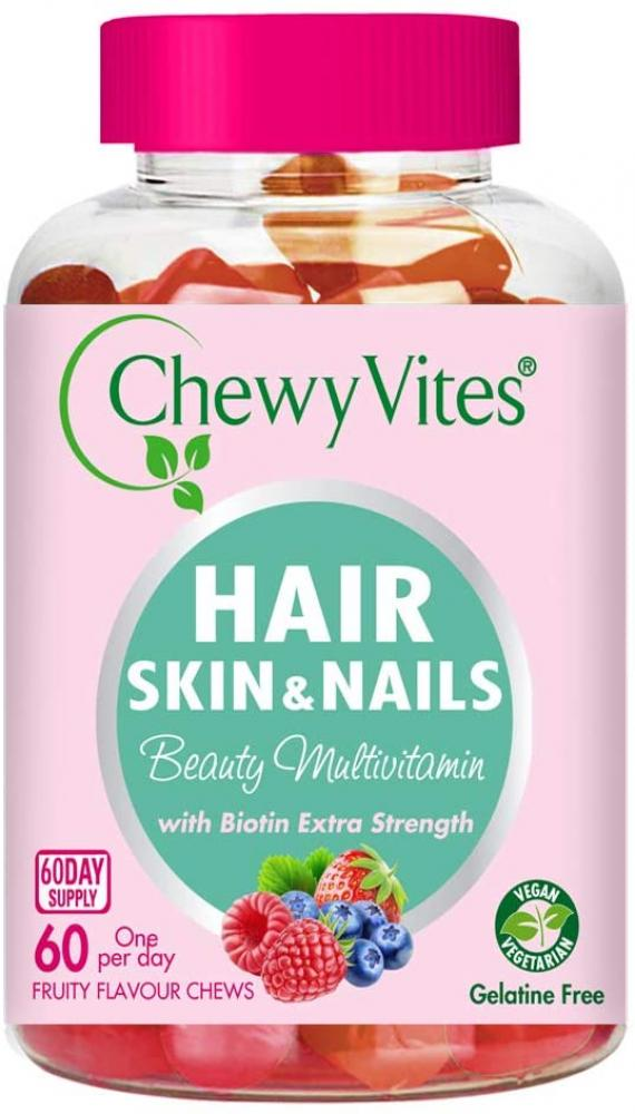 Chewy Vites Hair Skin and Nails 60 chews