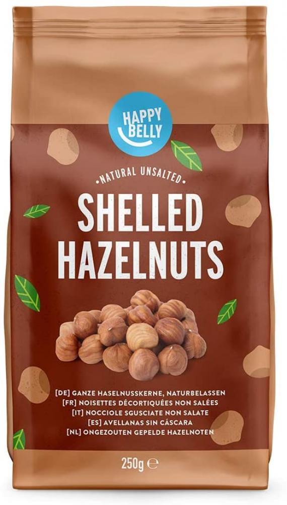 Happy Belly Shelled Hazelnuts 250 g
