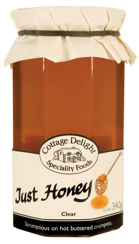 Cottage Delight Just Honey Clear 340g