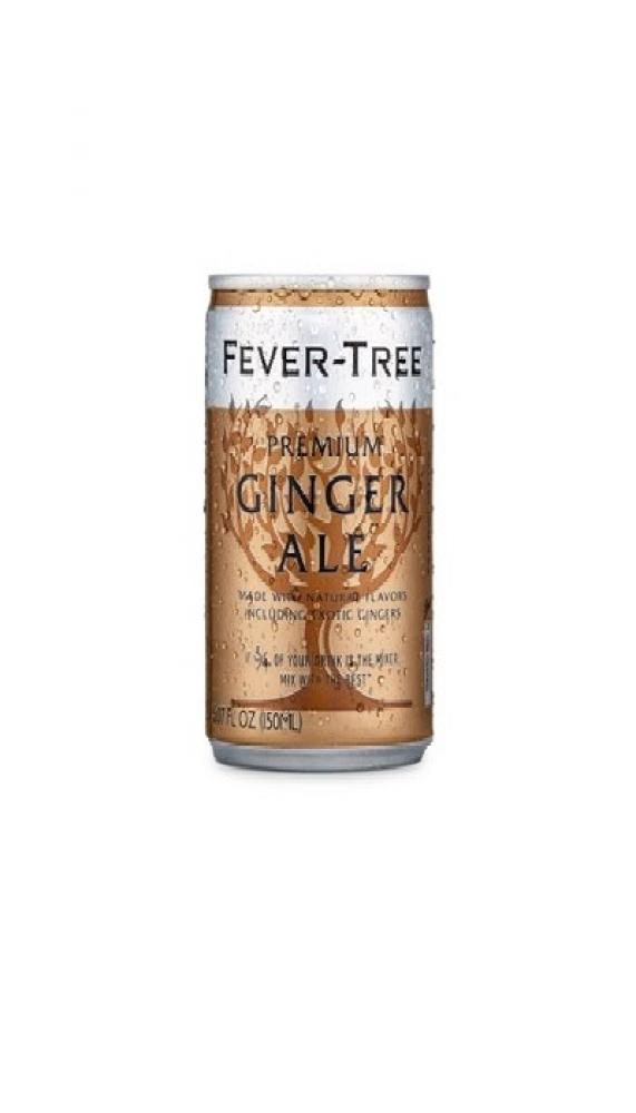 Fever Tree Refreshingly Light Ginger Ale 150ml