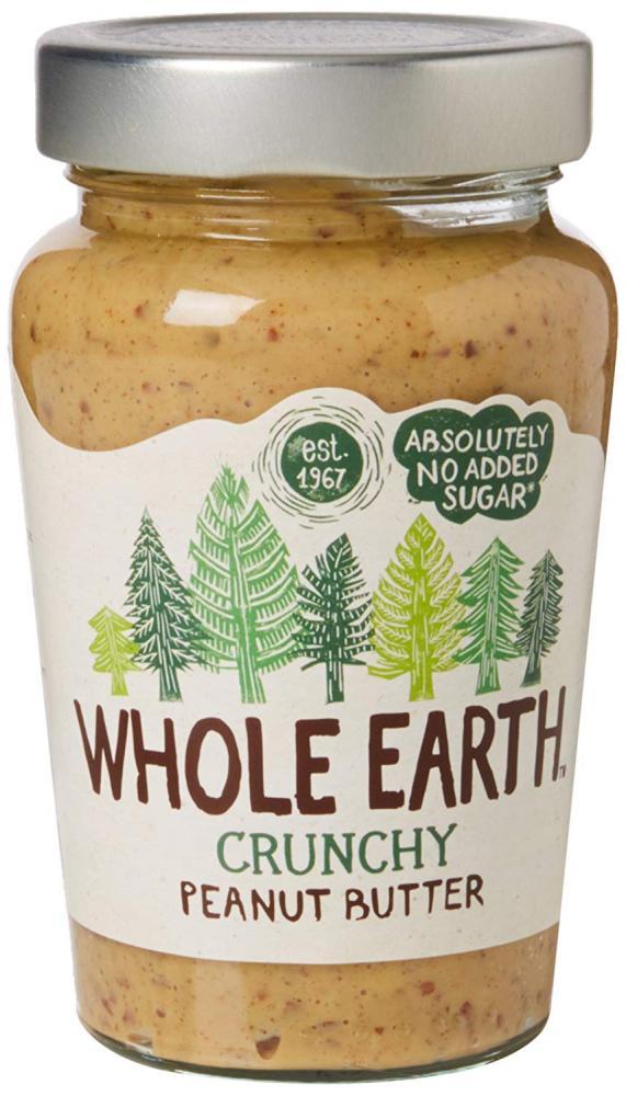 Whole Earth Crunchy Peanut Butter 340g