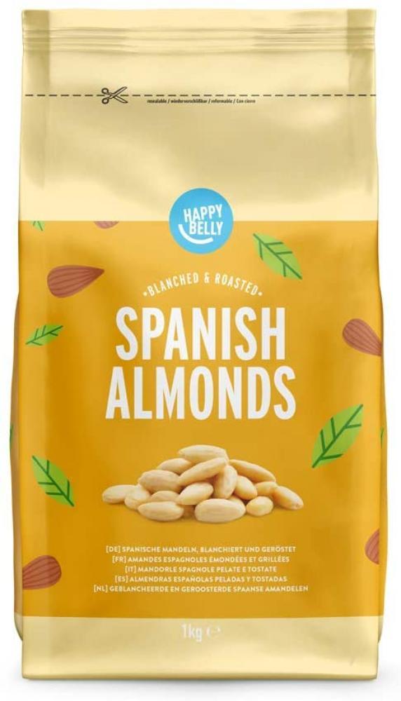 SALE  Happy Belly Spanish Almonds 1 kg