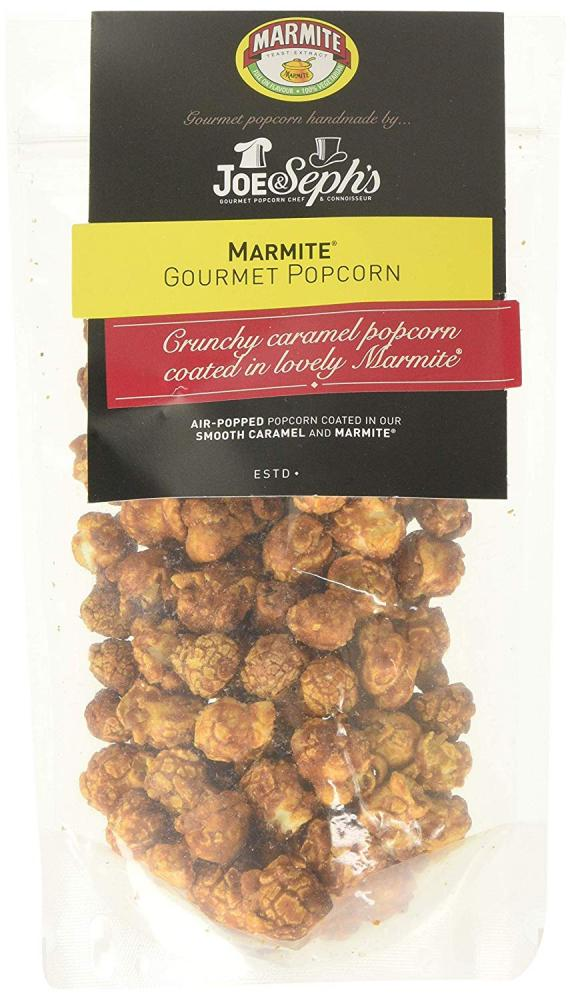 Joe and Sephs Marmite Popcorn 75 g