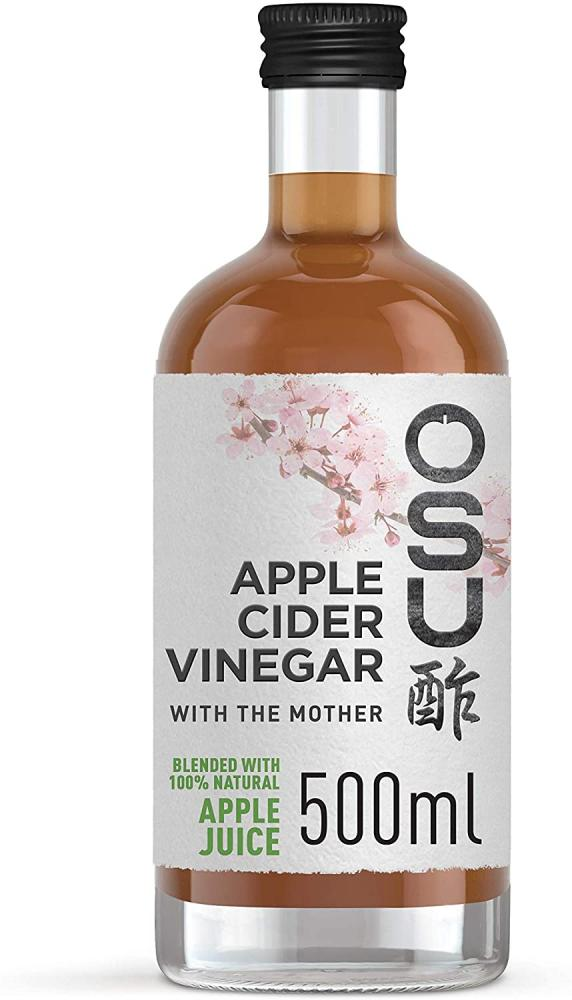 OSU Raw Apple Cider Vinegar with the Mother Apple Juice Blend 500ml