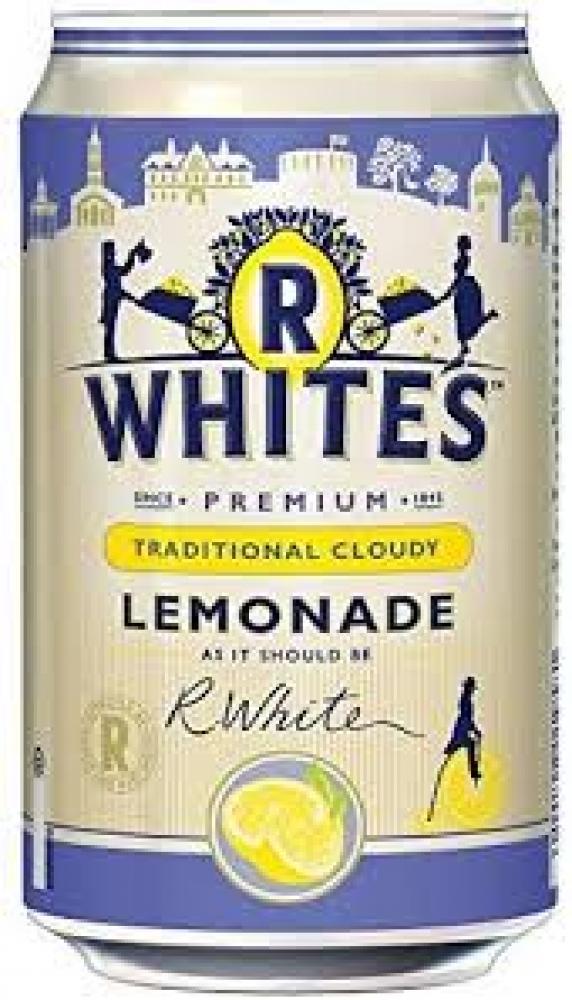 R Whites Traditional Cloudy Lemonade 330ml