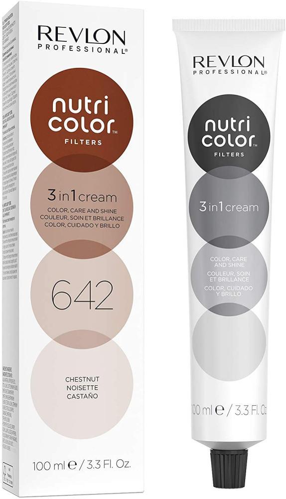 Revlon Nutri Color Filters Semi Permanent Hair Colour Conditioner 642 Chestnut 100 ml