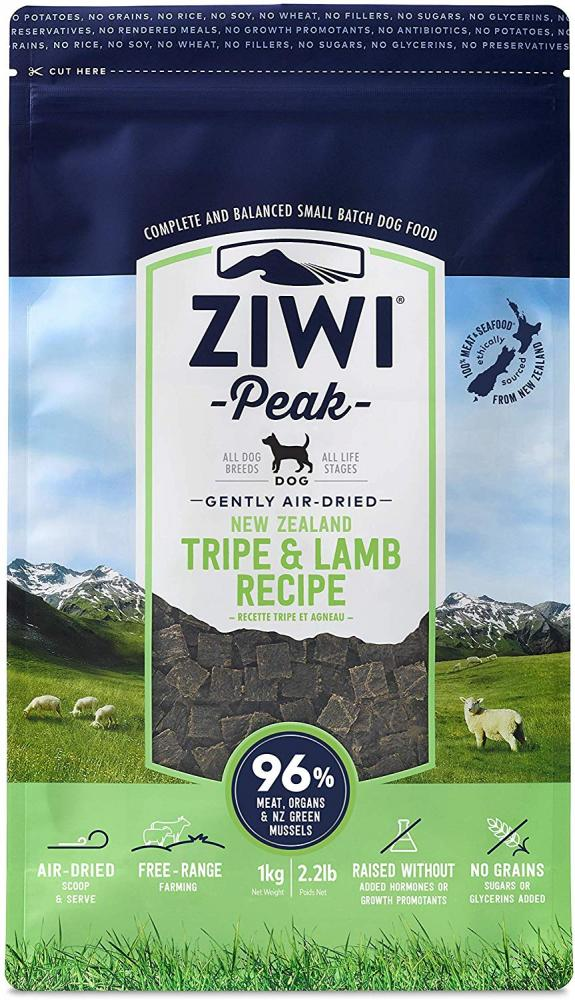 Ziwi Peak Daily Dog Air Dried Cuisine Tripe And Lamb 1kg