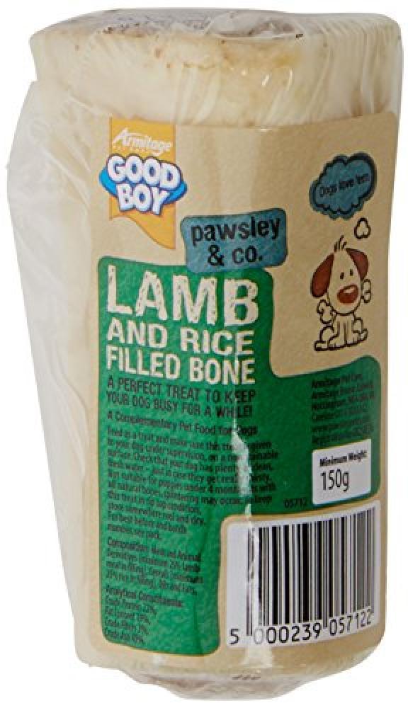 Good Boy Lamb and Rice Filled Calcium Bone
