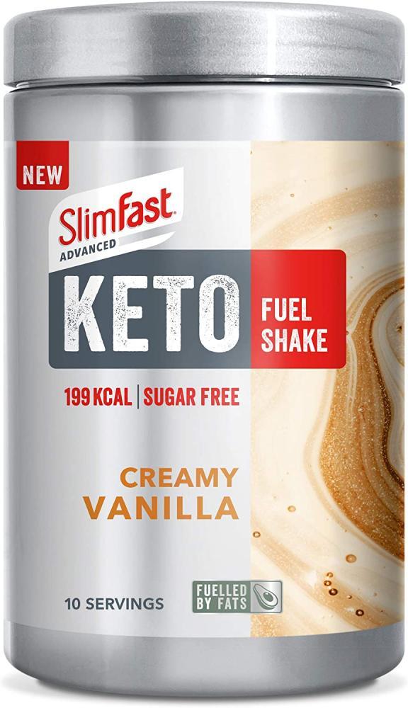 SlimFast Advanced Keto Fuel Shake Creamy Vanilla 320g