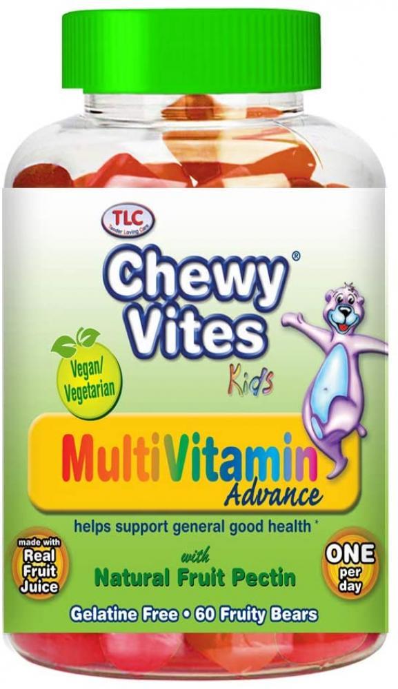 Chewy Vites Kids Multivitamin Advance 60 bears