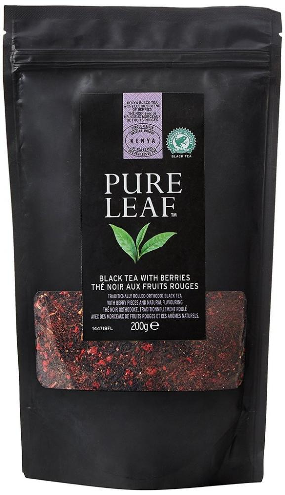 Pure Leaf Black Tea With Berries 200g