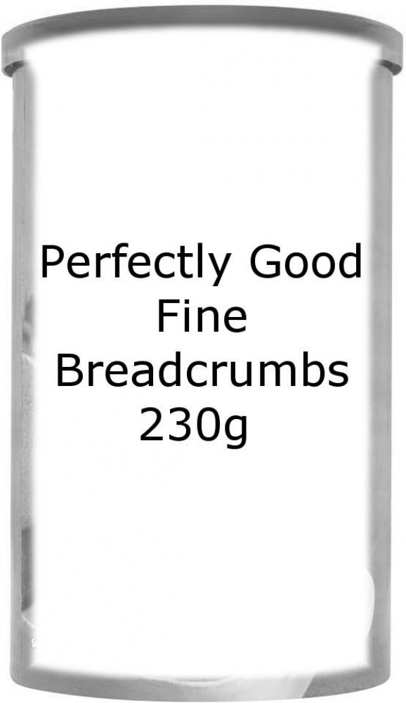 SUMMER SALE  Perfectly Good Fine Breadcrumbs 230g 230g