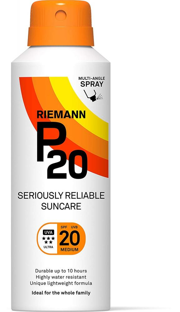 Riemann P20 Once a Day Sun Protection SPF 20 Medium 150 ml
