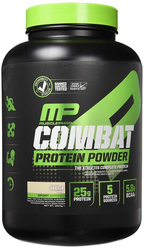 Muscle Pharm Vanilla Combat Powder 1.8kg