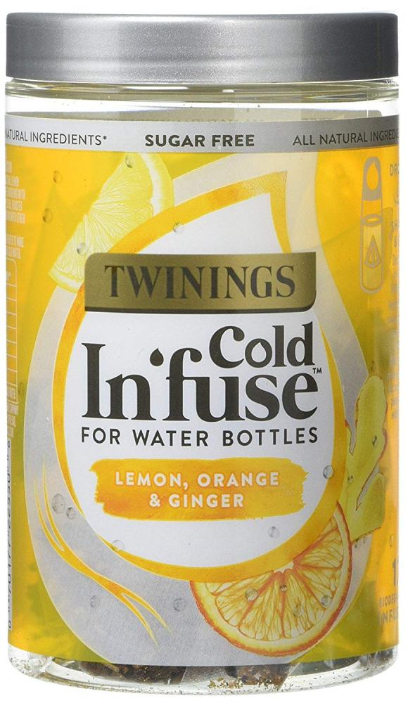 SALE  Twinings Cold Infuse Lemon Orange and Ginger 12 Teabags 30g