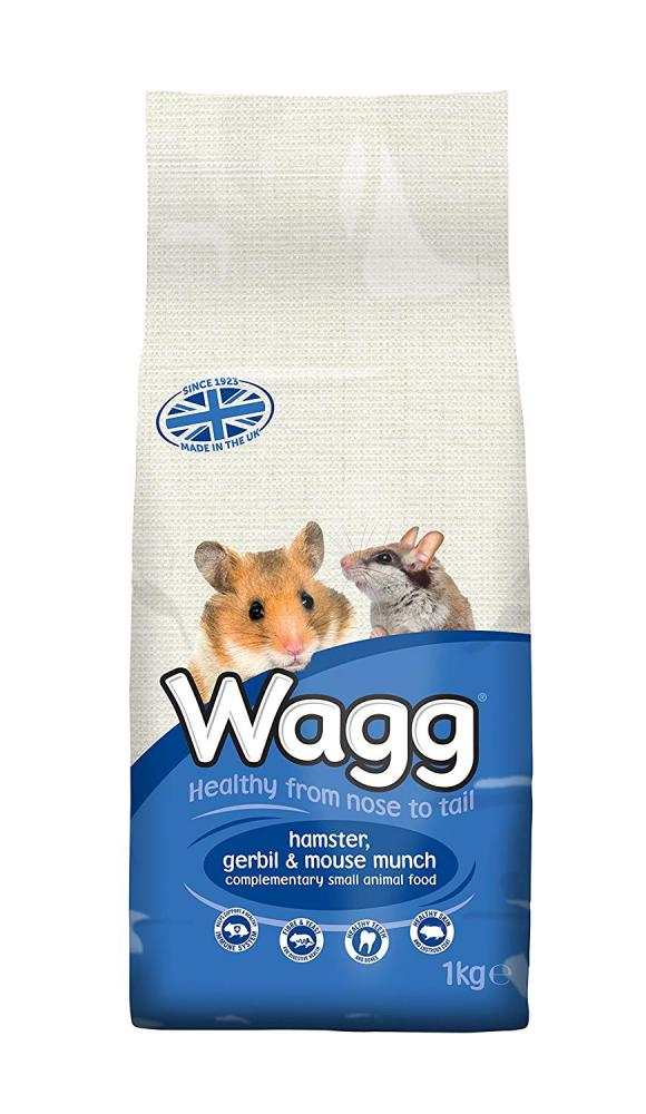 Wagg Hamster Gerbil and Mouse Munch Food 1kg