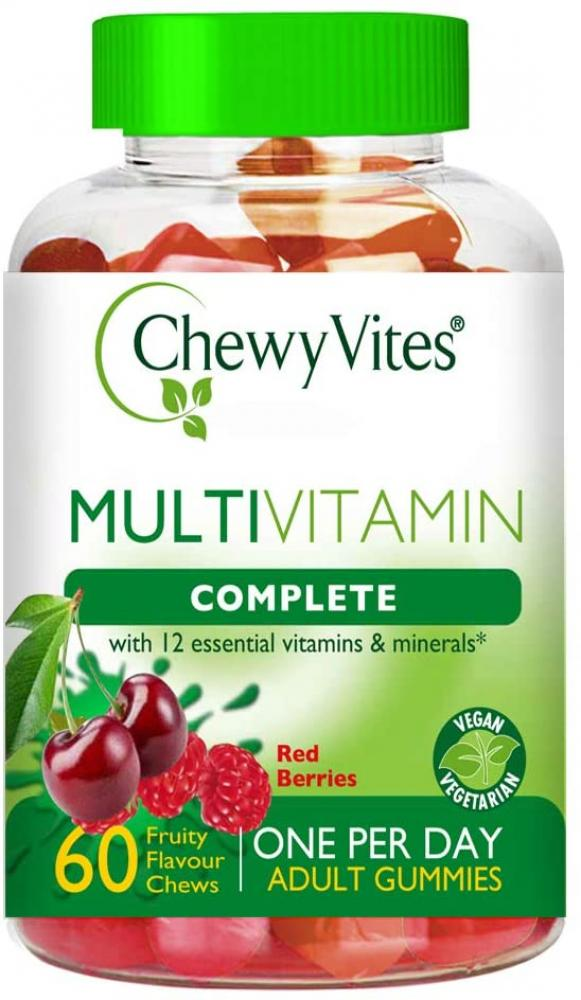 Chewy Vites Adults Multivitamin Complete Berries 60 Chews
