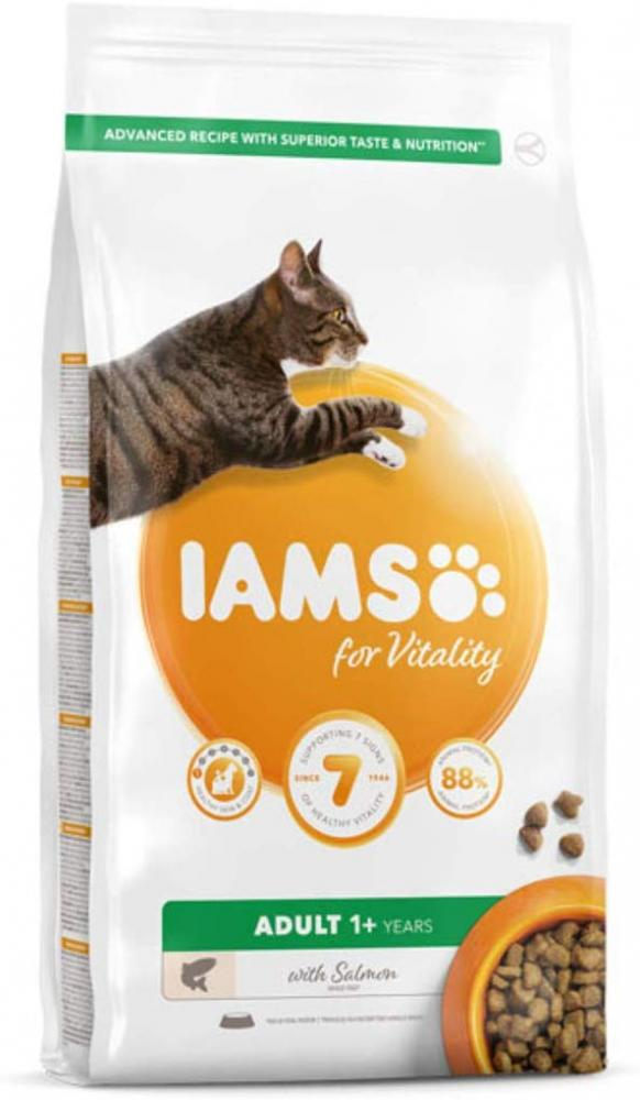 Iams For Vitality Adult 1 With Salmon 2 kg
