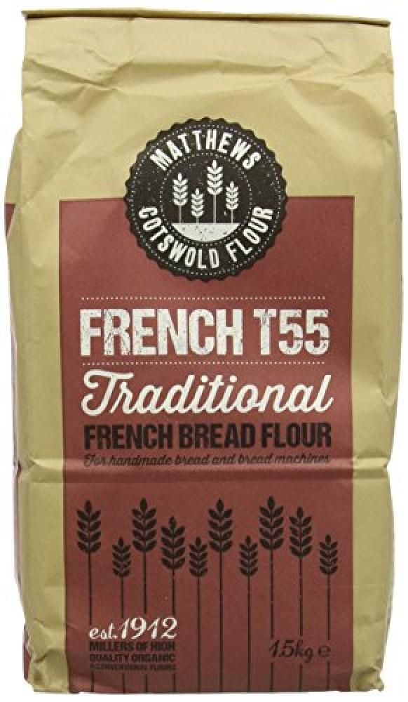 Matthews Cotwold Flour French T55 Traditional Bread Flour 1500g