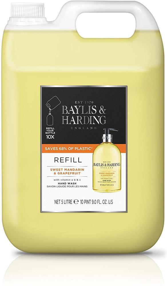 Baylis and Harding Sweet Mandarin and Grapefruit Hand Wash 5L