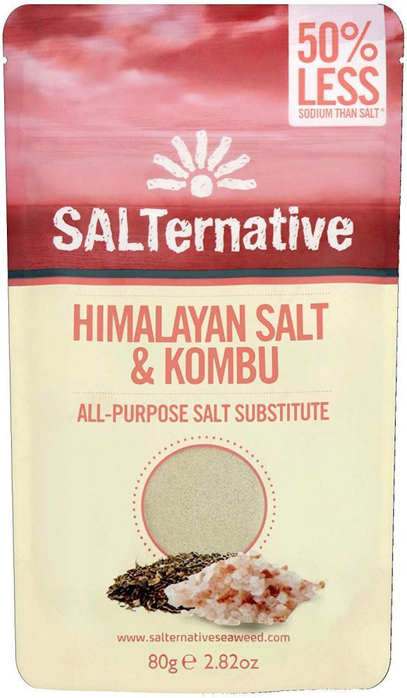 SALTernative Himalayan Salt and Kombu Seaweed 80g