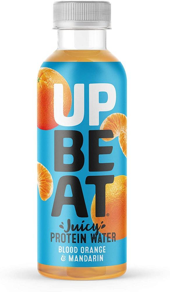 Up Be At Blood Orange and Mandarin Juicy Protein Water Bottles 500ml